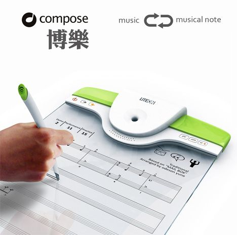 Composing made easy. Just write your music then the board will play it back for you!!!  so
