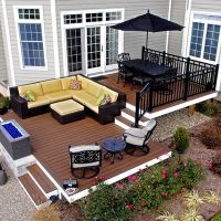 Best 25+ Tiered deck ideas on Pinterest | Two level deck ...