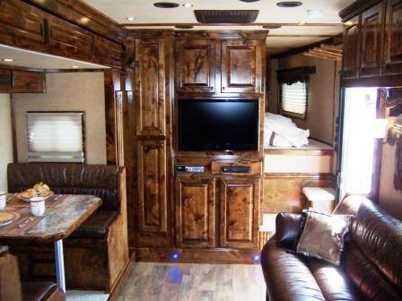 recliner sofa for rv velvet slipcovers used trailers sale, new & bloomer living quarter ...