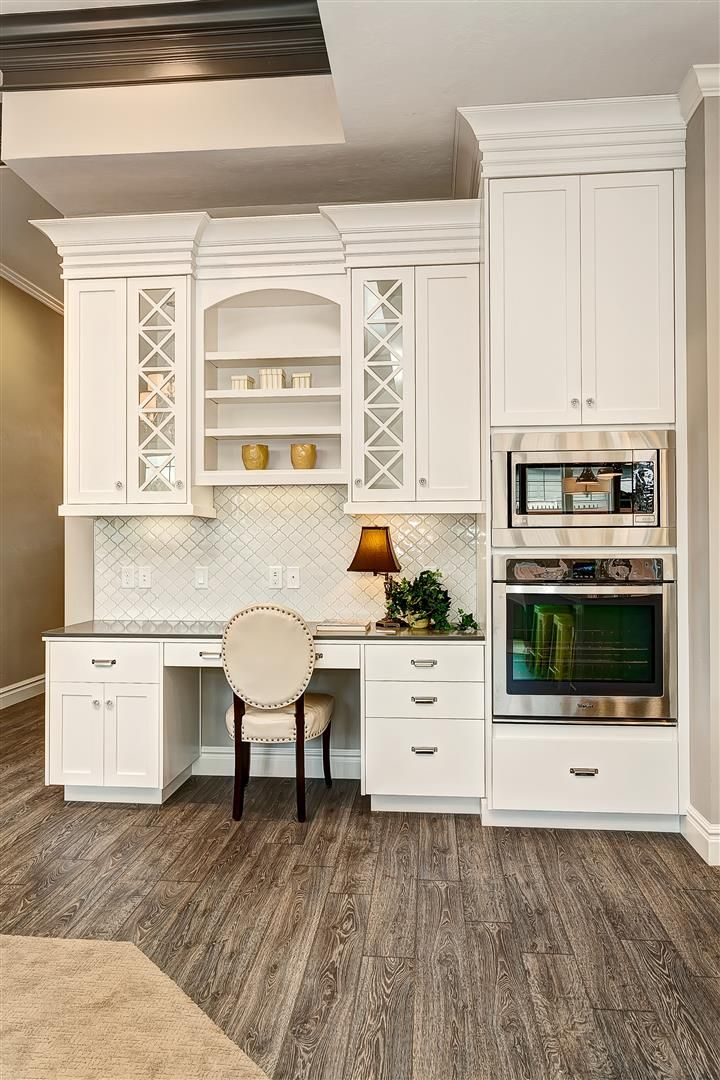 1000 ideas about Kitchen Desk Areas on Pinterest  Kitchen desks Desk areas and Hardware for