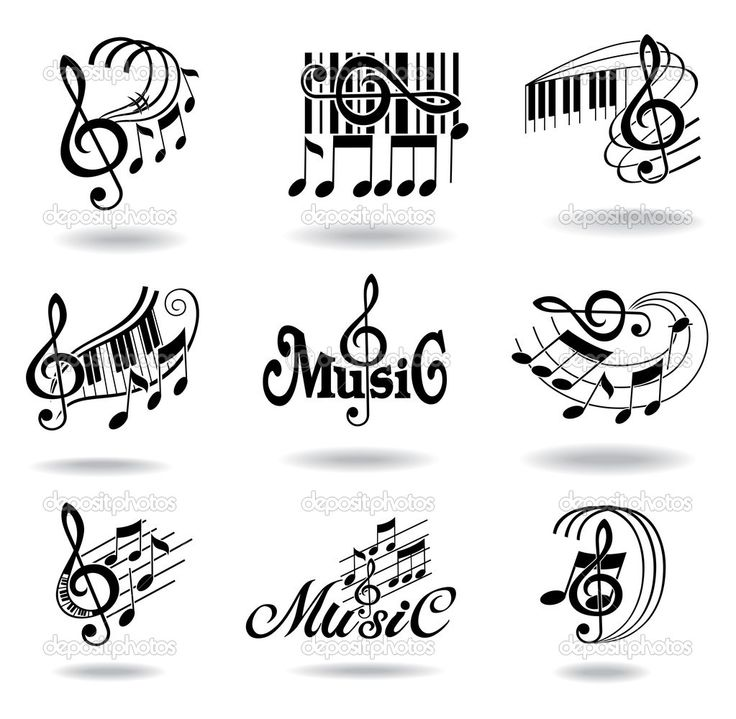 17 Best images about Music notes & letters on Pinterest