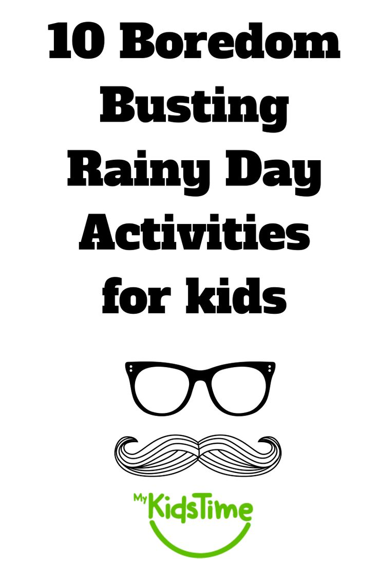 Fun ideas for indoor activities to do with you kids on a