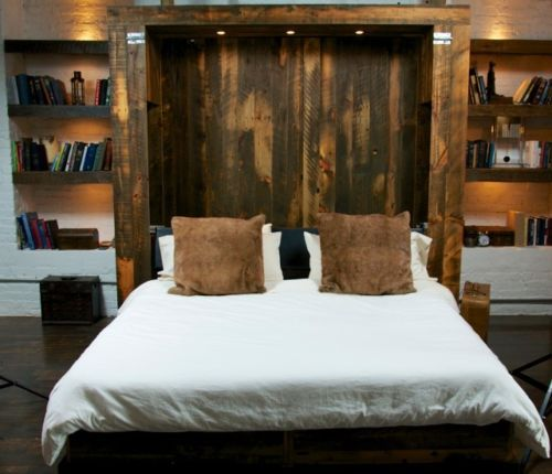Reclaimed Barn Wood King Size Murphy Bed Reclaimed Barn Wood Murphy Beds And Woods