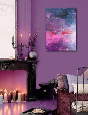 purple rooms bedroom