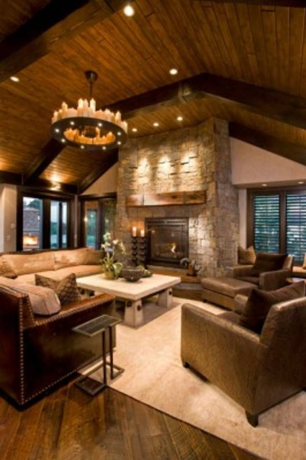 17 Best ideas about Country Living Rooms on Pinterest