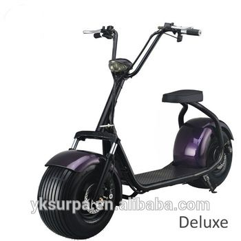 1500w 60v20ah Harley Front Suspension Fat Tire Electric