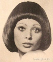 1969 glossy bob hairstyle