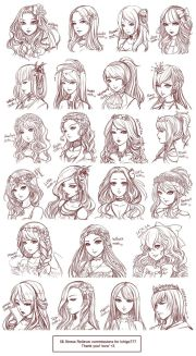 anime hairstyles styles of