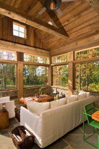 25+ best ideas about Rustic Sunroom on Pinterest ...