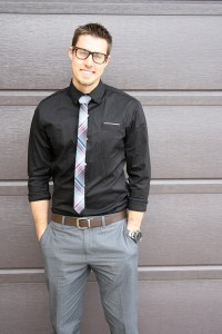 men's fashion- skinny ties & glasses | cleverly, yours ...