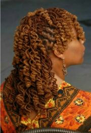 tight curls hot loc styles