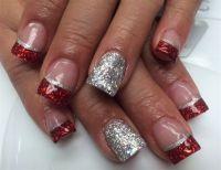 1000+ ideas about Christmas Acrylic Nails on Pinterest ...