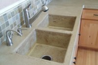 How to Make Concrete Sinks | Stains, For dogs and Smooth
