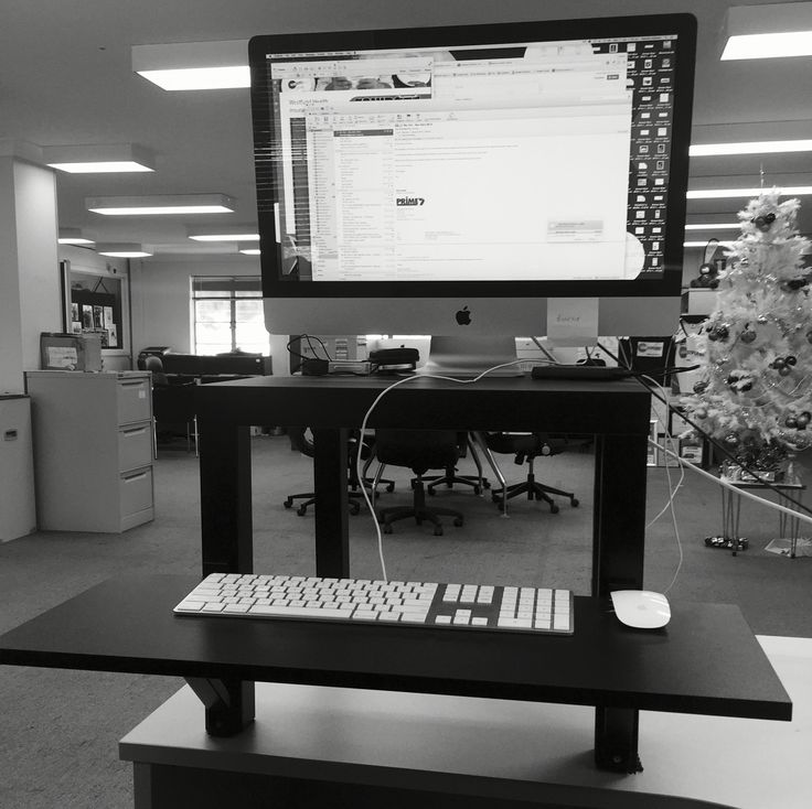IKEA hack  cheap standing desk  Fit  Healthy