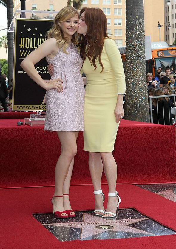 Chloe Moretz And Julianne Moore Julianne Moore