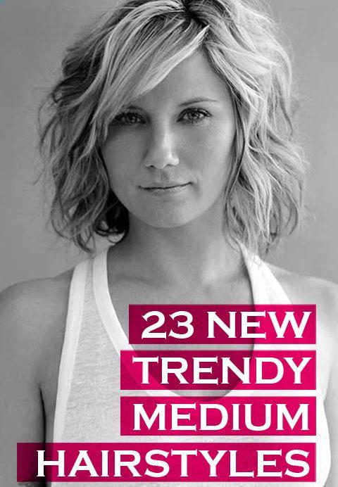 25 Best Ideas About Trendy Medium Haircuts On Pinterest Medium