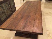 Reclaimed hickory table top | Custom built Wood Tables ...