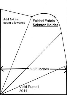 22 Best images about Sewing tutorial-Scissor pouch on