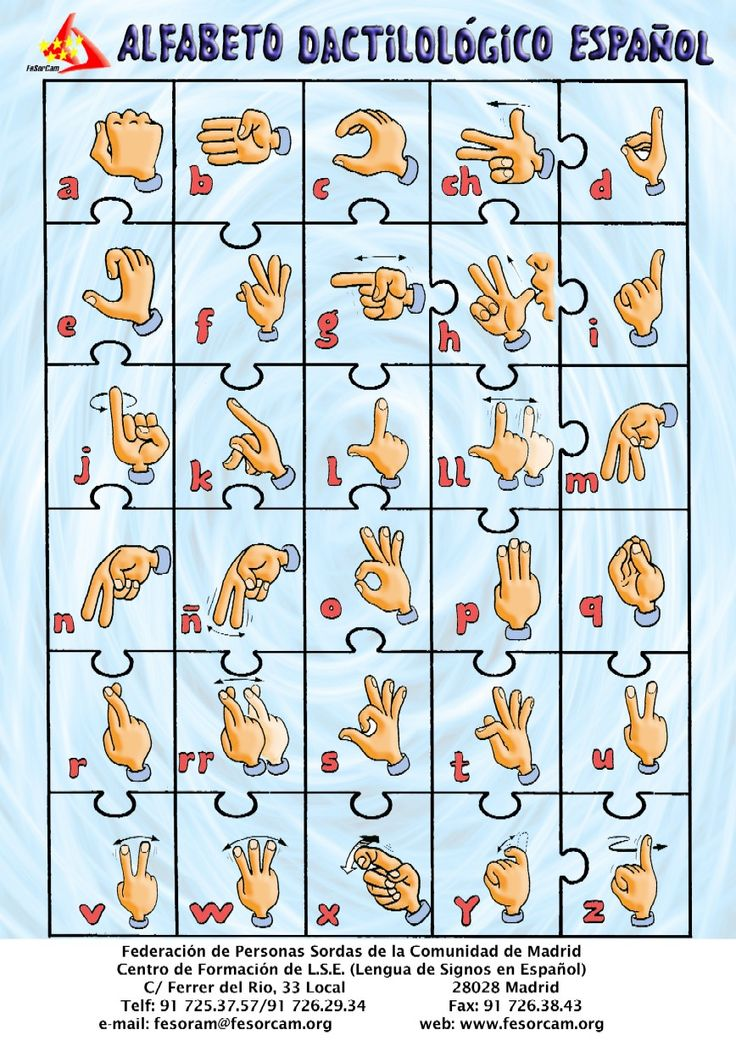 Meeting 14 Spanish Sign Language Information And