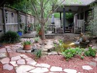 Pond Makeover for Lisa's Small Courtyard Garden in Houston ...