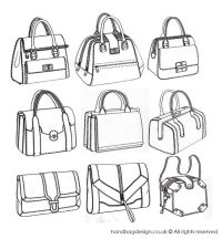 Structured handbag designs by Emily O'Rourke | bags ...