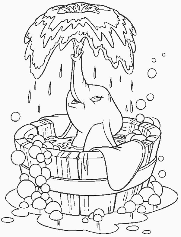 Bath Time Coloring Pages X Bath Time Colouring Pages