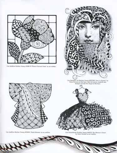 129 best images about Beautiful Zentangle Women/Girls on