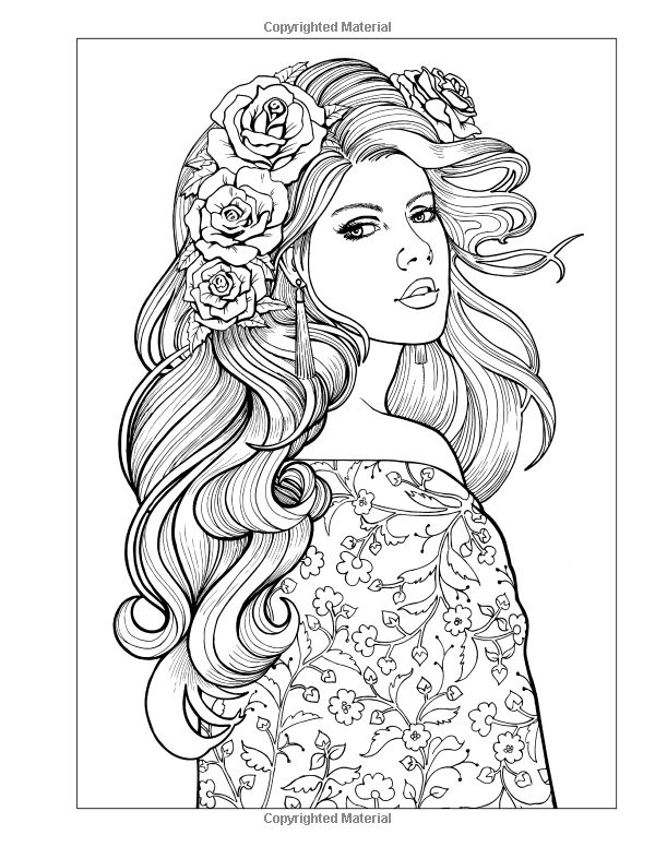 1866 best Adult Color Pages images on Pinterest