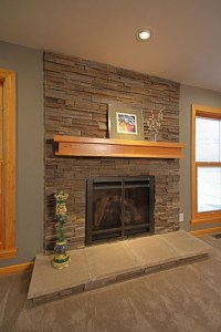 Updating a 1960s ranch home fireplace to be more ...