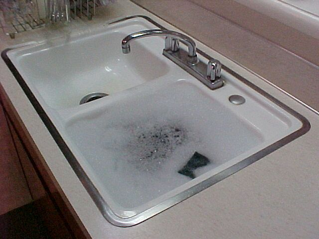 farmhouse kitchen sinks buffet storage sink with hudee rim - google search | ring ...