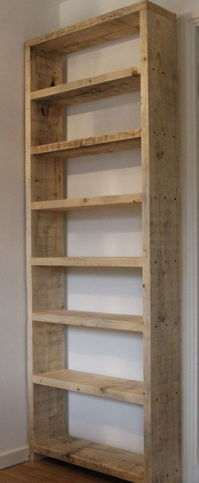 Simple Wood Bookcase  WoodWorking Projects  Plans
