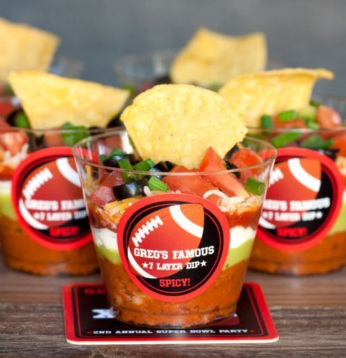 Rock your superbowl party (22 photos + recipes)