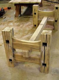 Woodworking Table Legs With Elegant Creativity In Germany ...