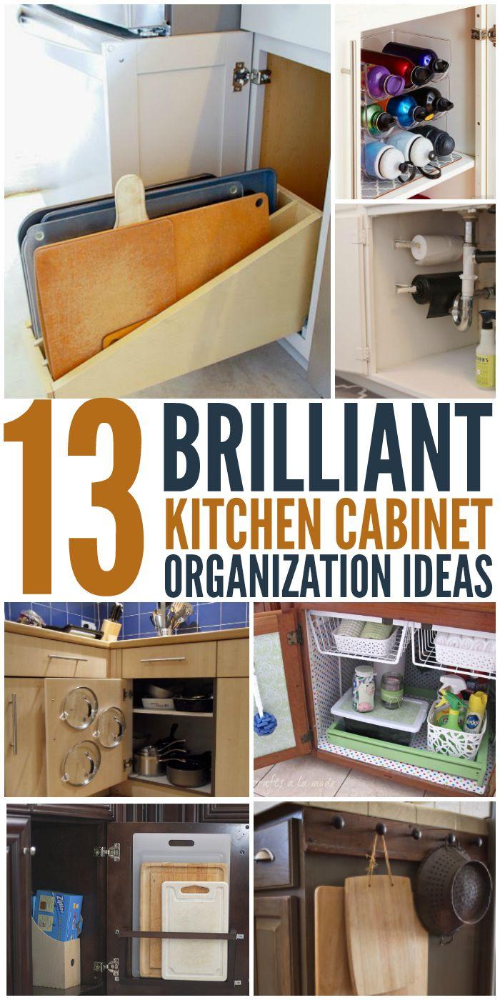 1000 ideas about Organizing Kitchen Cabinets on Pinterest