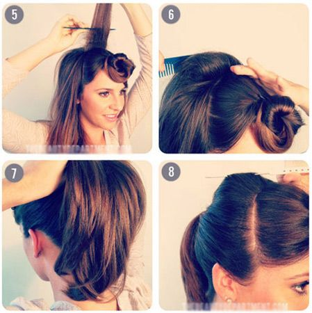 25 Best Ideas About Simple Ponytail Hairstyles On Pinterest