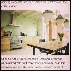 Brass Kitchen Pulls Island Stools For Farrow & Ball | Cooking Apple Green. Home Pinterest ...