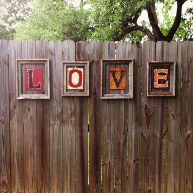 25 Best Ideas About Garden Fence Art On Pinterest Decorative