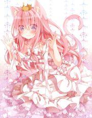 pink anime girl
