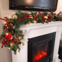 1000+ ideas about Christmas Mantle Decorations on ...