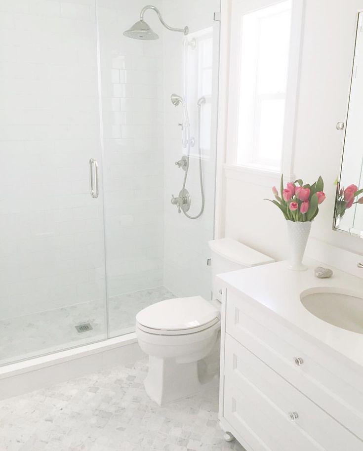1000 ideas about White Subway Tile Bathroom on Pinterest