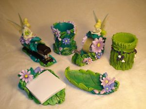 Tinkerbell Desk set and Desks on Pinterest
