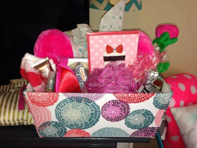 Gift basket for teenage girl birthday baskets made by me