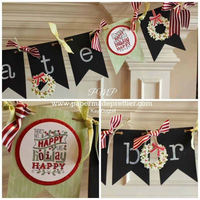 179 best images about Stampin Up Banners on Pinterest  Stampin up christmas Valentines and