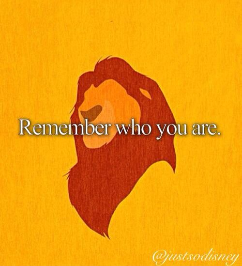 Lion King Remember Who You Are Quotes Font