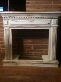 17 Best ideas about Distressed Fireplace on Pinterest ...