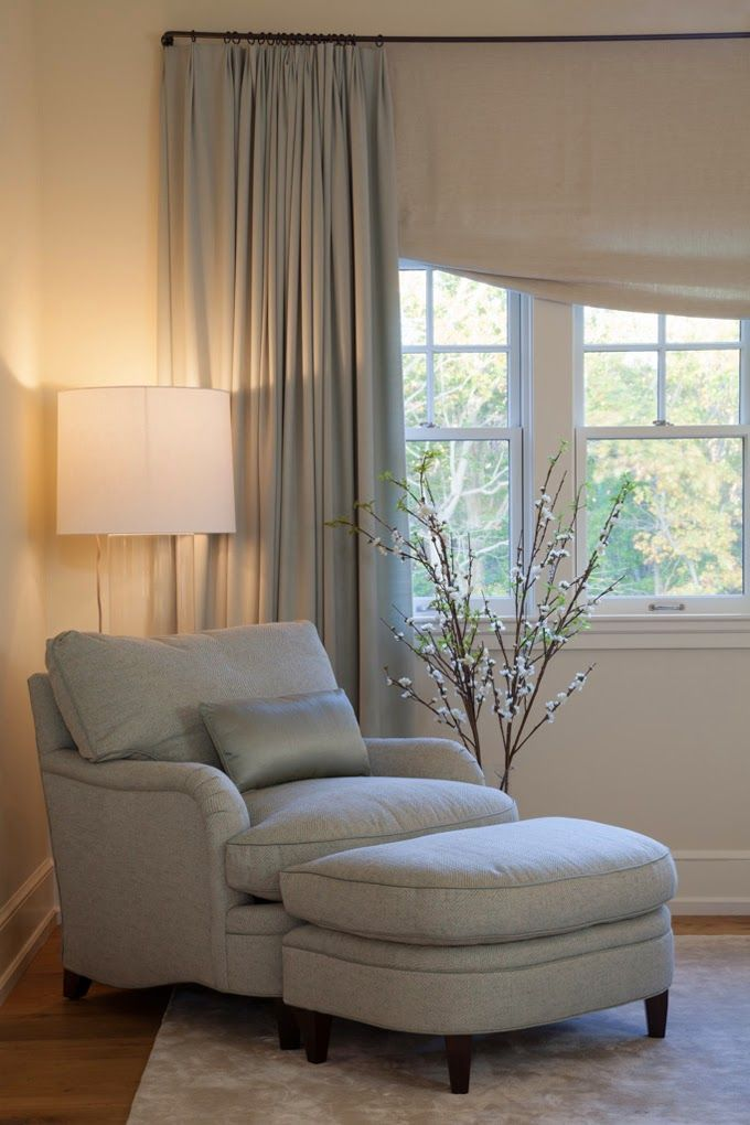 comfy chair and ottoman fabric task 78 best ideas about bedroom sitting areas on pinterest | area, master chairs ...