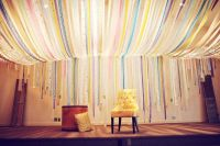 Streamer ceiling | Childrens ministry ideas | Pinterest ...