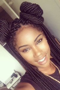 25+ best ideas about Medium sized box braids on Pinterest ...