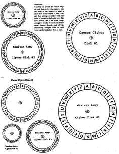 25+ best ideas about Cipher wheel on Pinterest