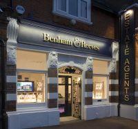 Front shop design of Benham & Reeves estate agent ...